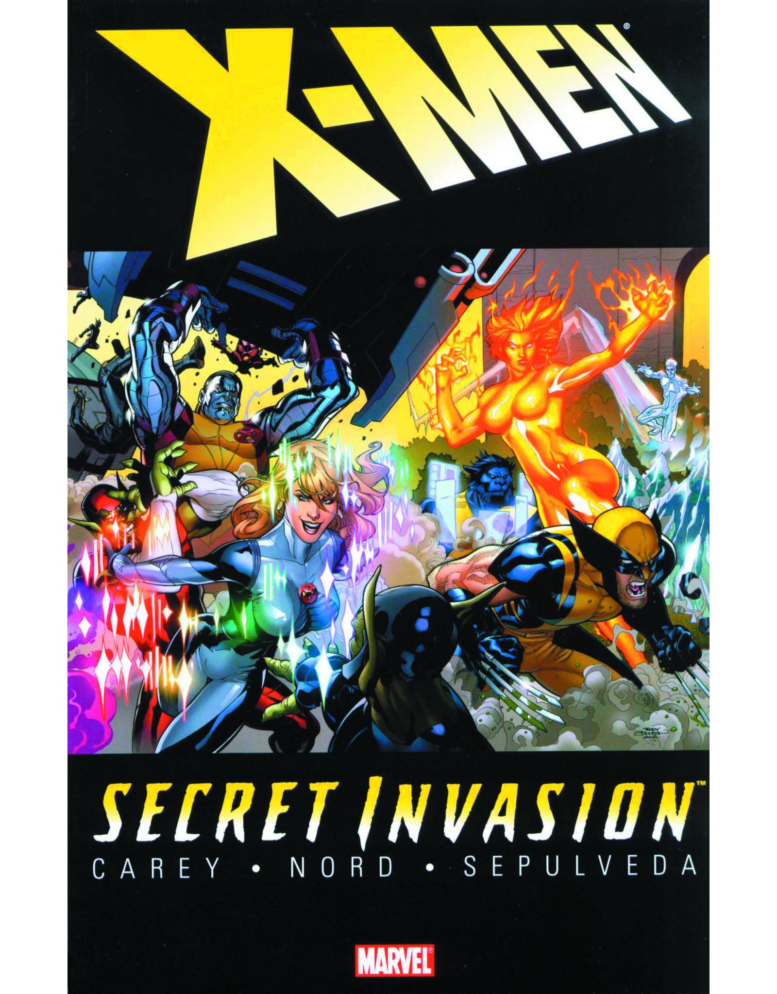 MARVEL COMICS SECRET INVASION TP X-MEN