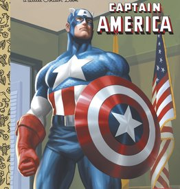 THE COURAGEOUS CAPTAIN AMERICA (MARVEL) LITTLE GOLDEN BOOK