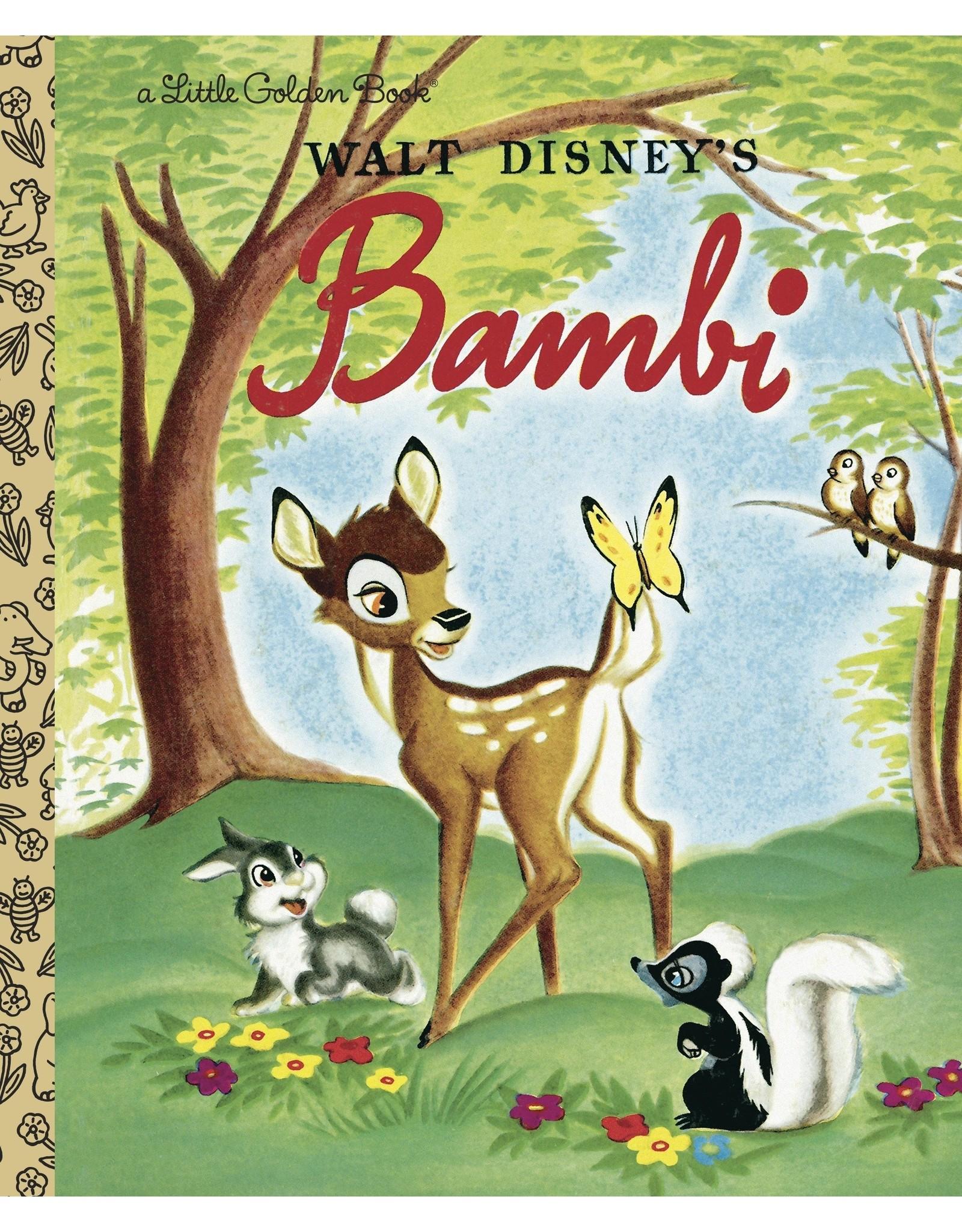 BAMBI (DISNEY CLASSIC) LITTLE GOLDEN BOOK