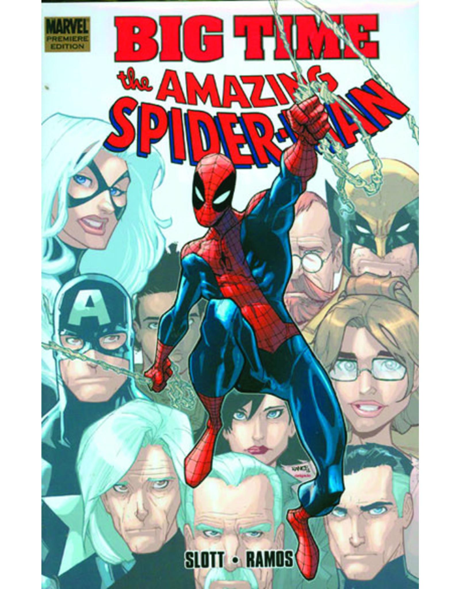 MARVEL COMICS SPIDER-MAN BIG TIME PREM HC