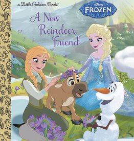 A NEW REINDEER FRIEND (DISNEY FROZEN) LITTLE GOLDEN BOOK