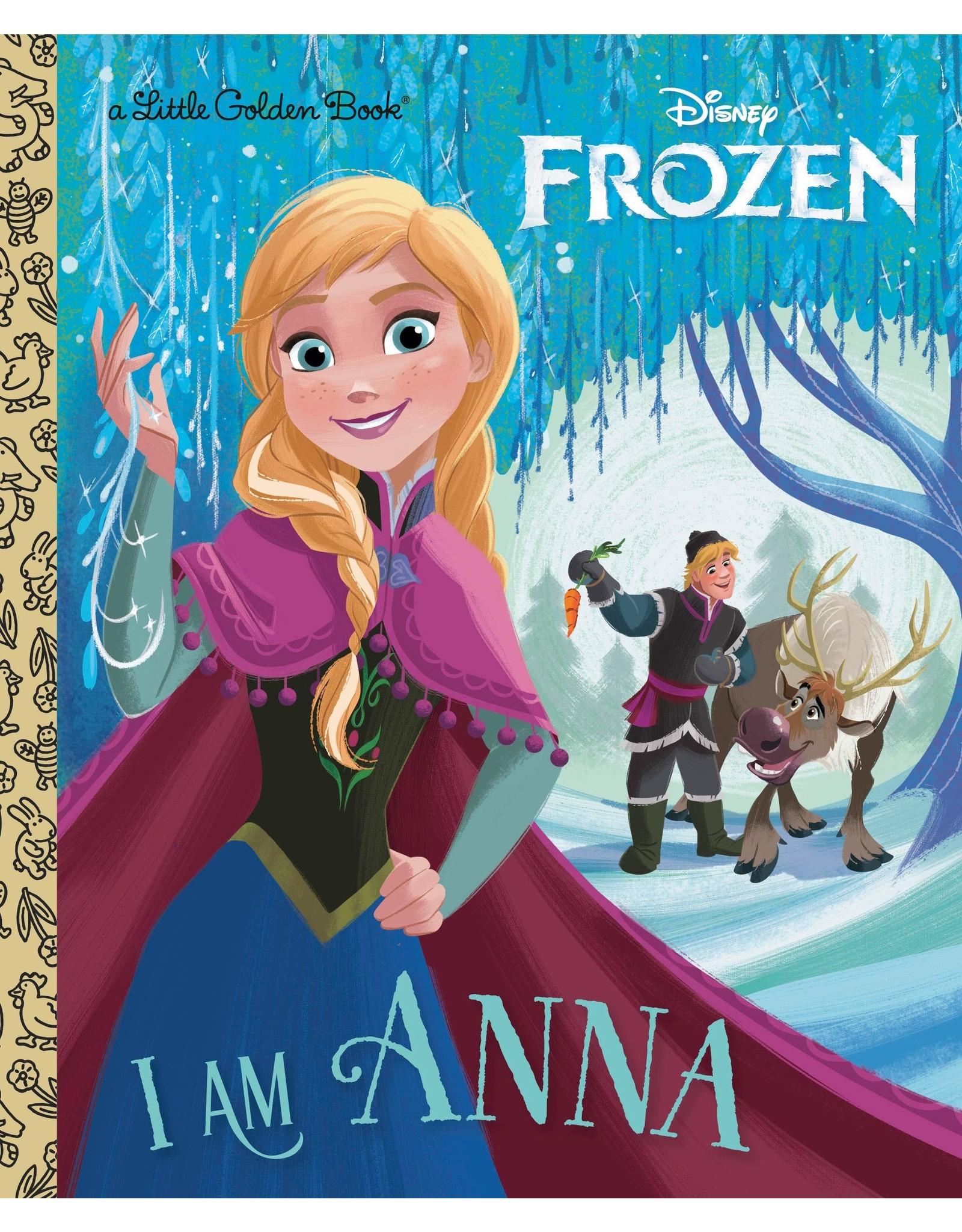GOLDEN BOOKS I AM ANNA LITTLE GOLDEN BOOK HC