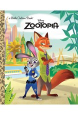 ZOOTOPIA LITTLE GOLDEN BOOK (DISNEY)