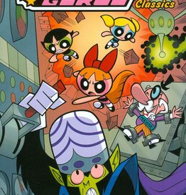 IDEA & DESIGN WORKS LLC POWERPUFF GIRLS CLASSICS TP VOL 02 POWER UP