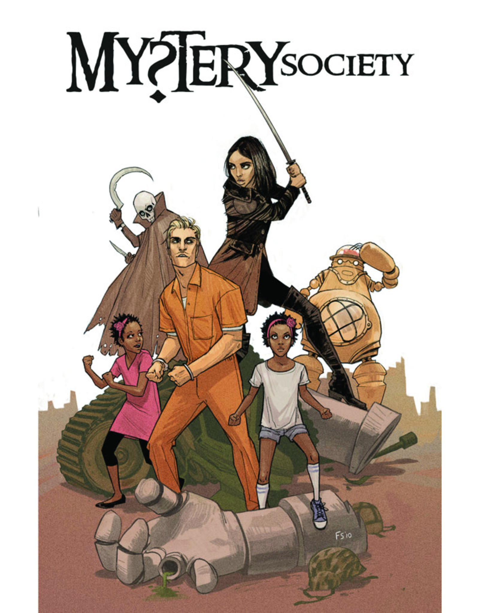 IDW PUBLISHING MYSTERY SOCIETY DELUXE HC