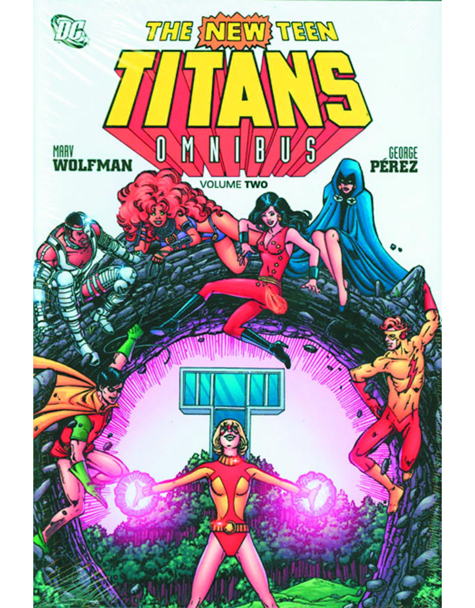 DC COMICS NEW TEEN TITANS OMNIBUS HC VOL 02