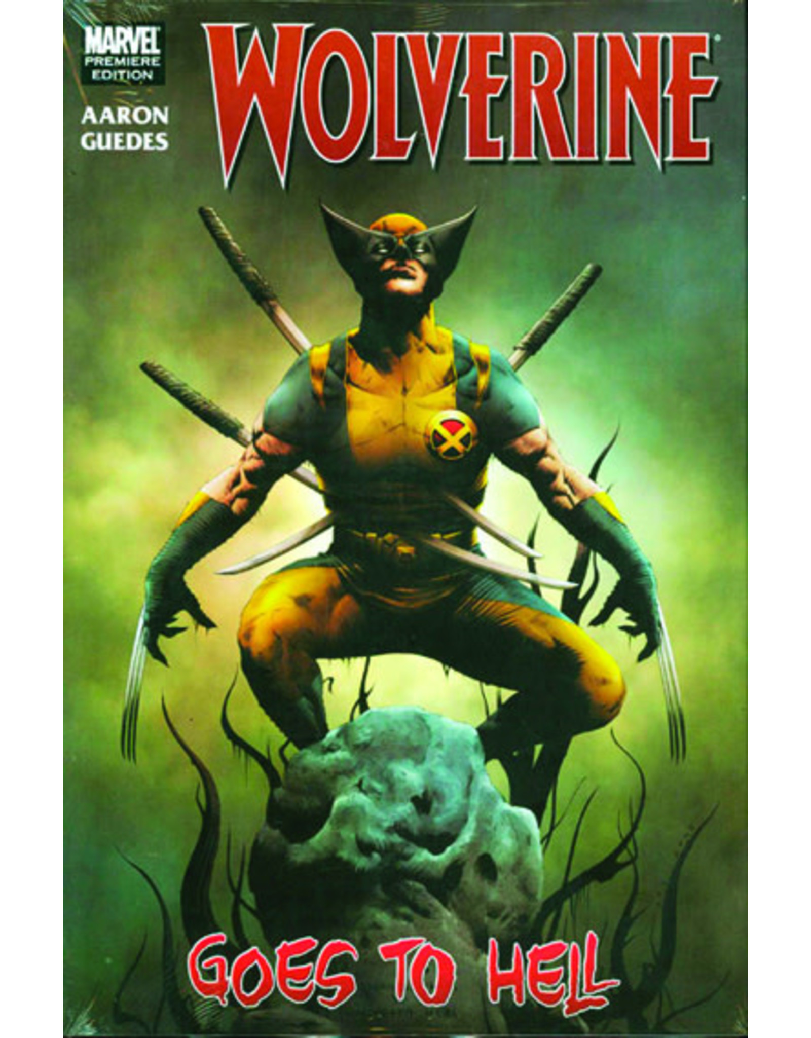 MARVEL COMICS WOLVERINE WOLVERINE GOES TO HELL PREM HC