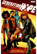 MARVEL COMICS GENERATION HOPE TP FUTURES A FOUR LETTER WORD