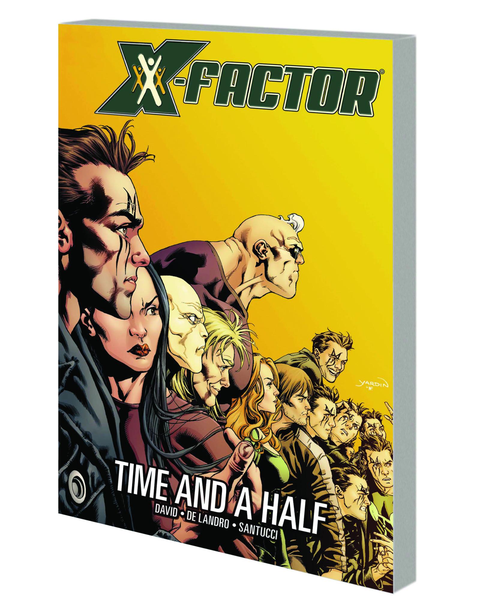 MARVEL COMICS X-FACTOR TP VOL 07 TIME AND A HALF