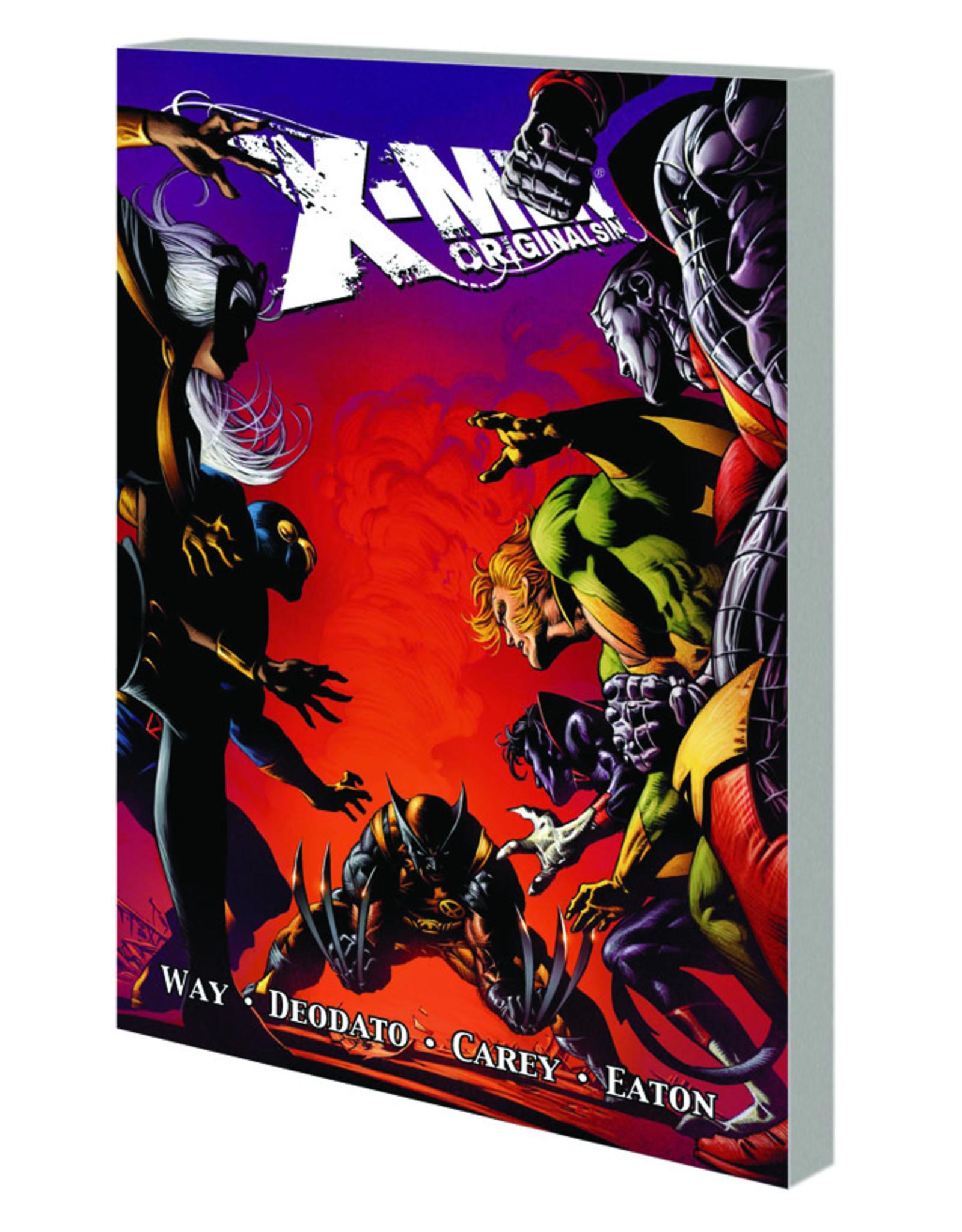 MARVEL COMICS X-MEN ORIGINAL SIN TP