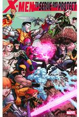 MARVEL COMICS X-MEN TO SERVE AND PROTECT TP