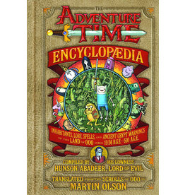 ABRAMS ADVENTURE TIME ENCYCLOPEDIA HC