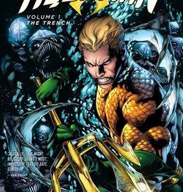 DC COMICS AQUAMAN HC VOL 01 THE TRENCH (OOP)