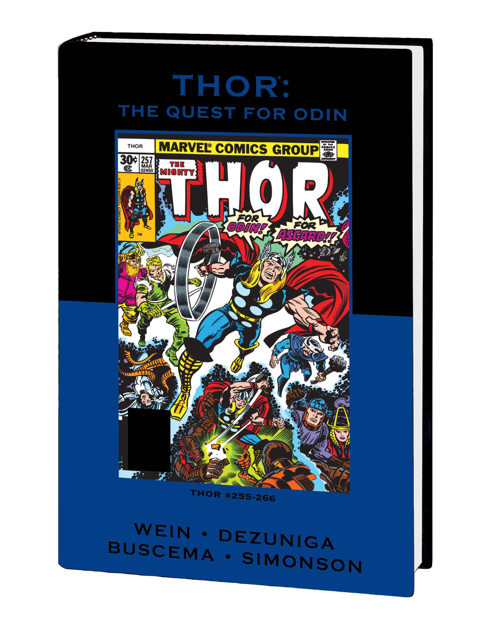 MARVEL COMICS THOR QUEST FOR ODIN PREM HC DM VAR ED 60