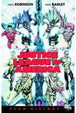 DC COMICS JUSTICE LEAGUE OF AMERICA TEAM HISTORY HC