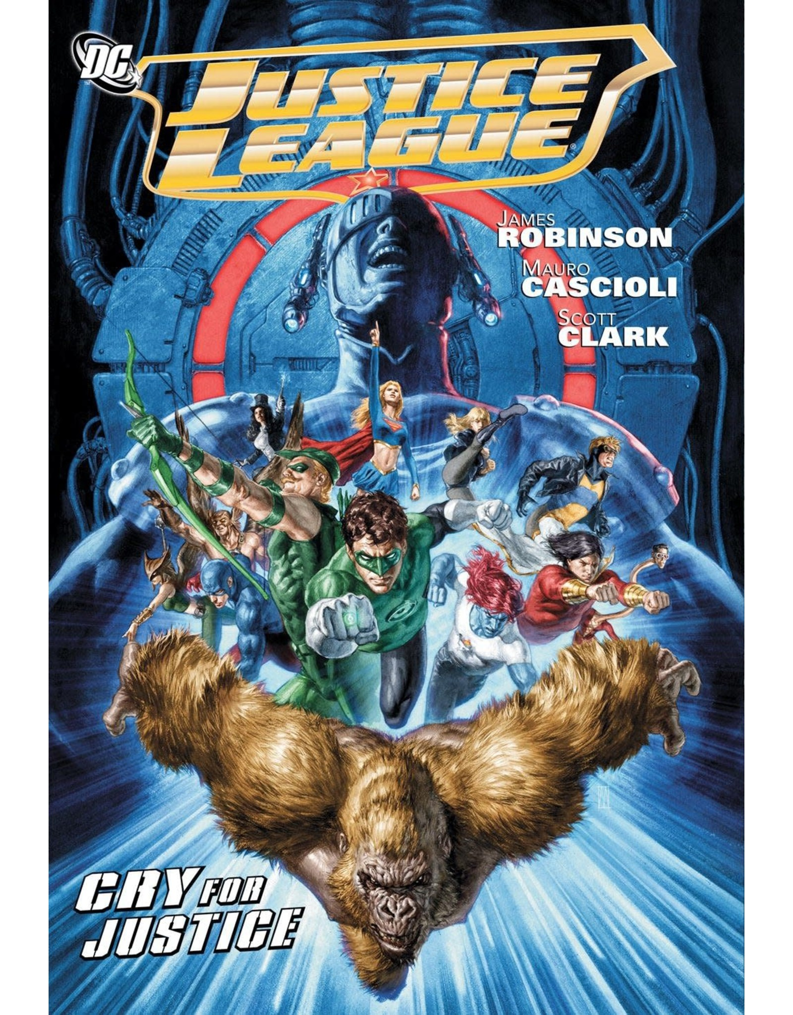 DC COMICS JUSTICE LEAGUE CRY FOR JUSTICE HC