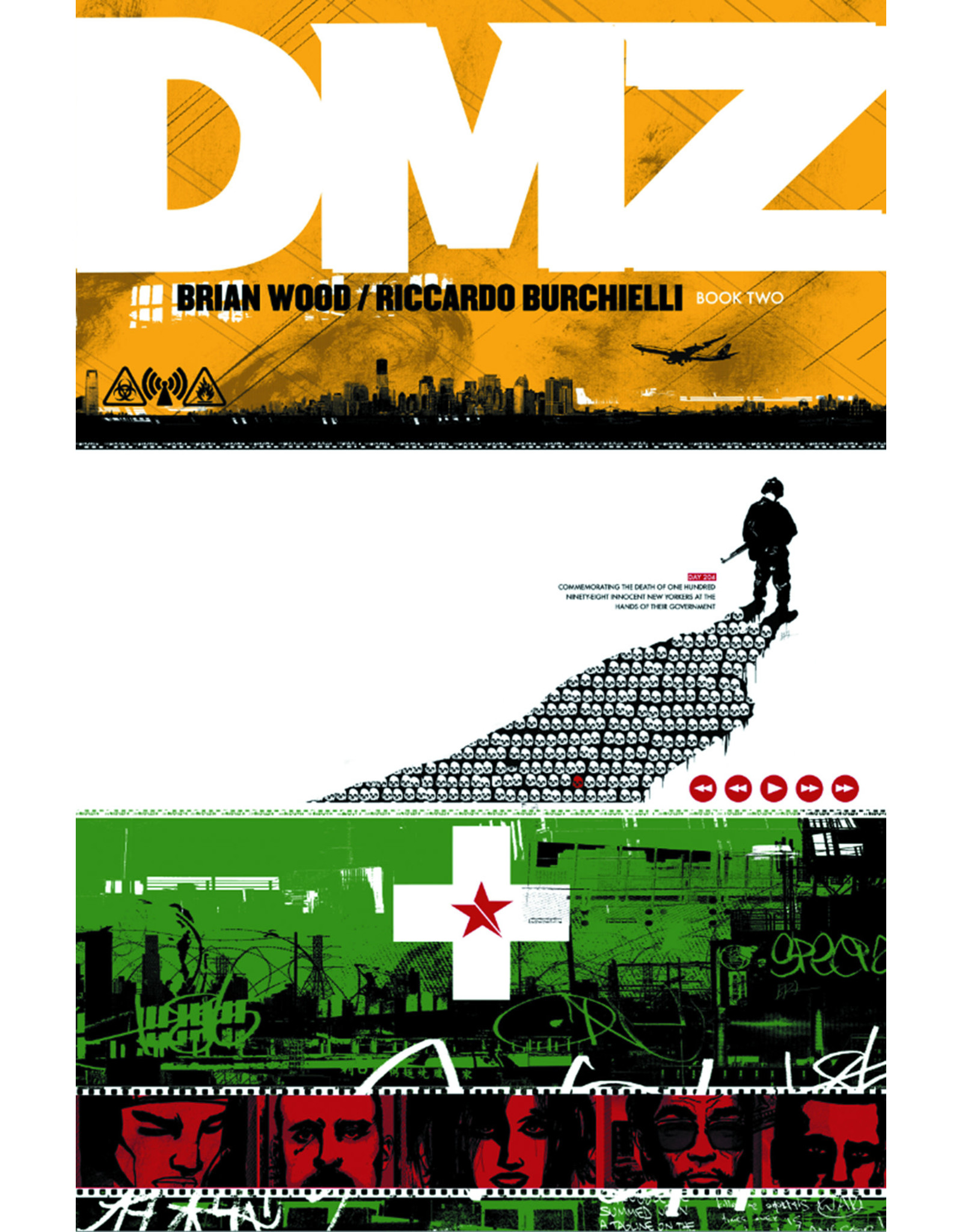 DC COMICS DMZ DELUXE EDITION HC BOOK 02