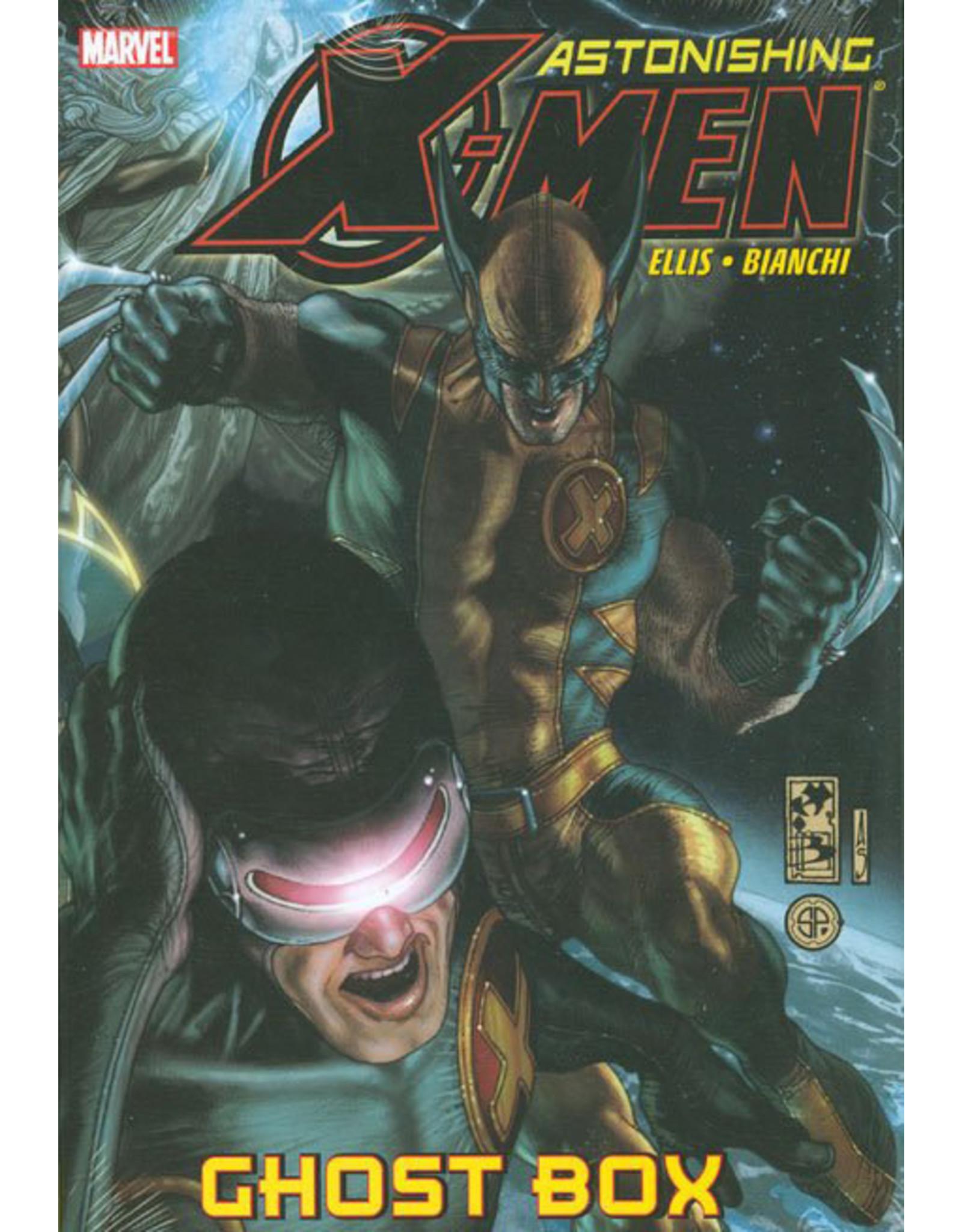 MARVEL COMICS ASTONISHING X-MEN PREM HC GHOST BOX
