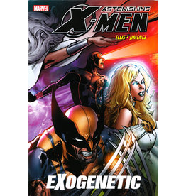 MARVEL COMICS ASTONISHING X-MEN EXOGENETIC PREM HC