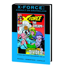 MARVEL COMICS X-FORCE ASSAULT ON GRAYMALKIN PREM HC DM VAR ED 79