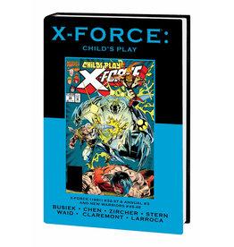 MARVEL COMICS X-FORCE CHILDS PLAY PREM HC DM VAR ED 100