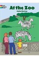 DOVER PUBLICATIONS AT THE ZOO COLORING BOOK