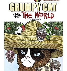 DOVER PUBLICATIONS GRUMPY CAT VS THE WORLD COLORING BOOK