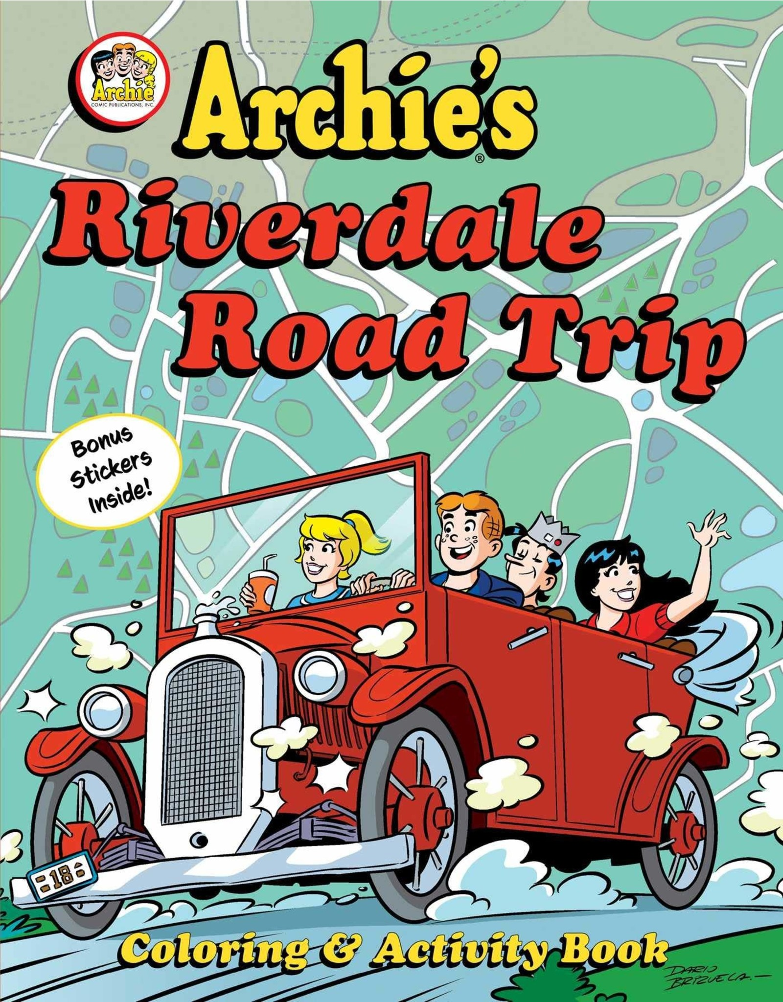 ARCHIES RIVERDALE ROAD TRIP ACTIVITY BOOK