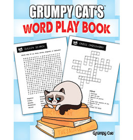 DOVER PUBLICATIONS GRUMPY CAT'S WORD PLAY BOOK