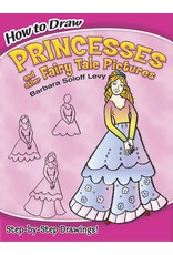 HOW TO DRAW PRINCESSES AND THEIR FAIRY TALE PICTURES