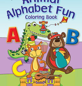DOVER PUBLICATIONS ANIMAL ALPHABET FUN COLORING BOOK