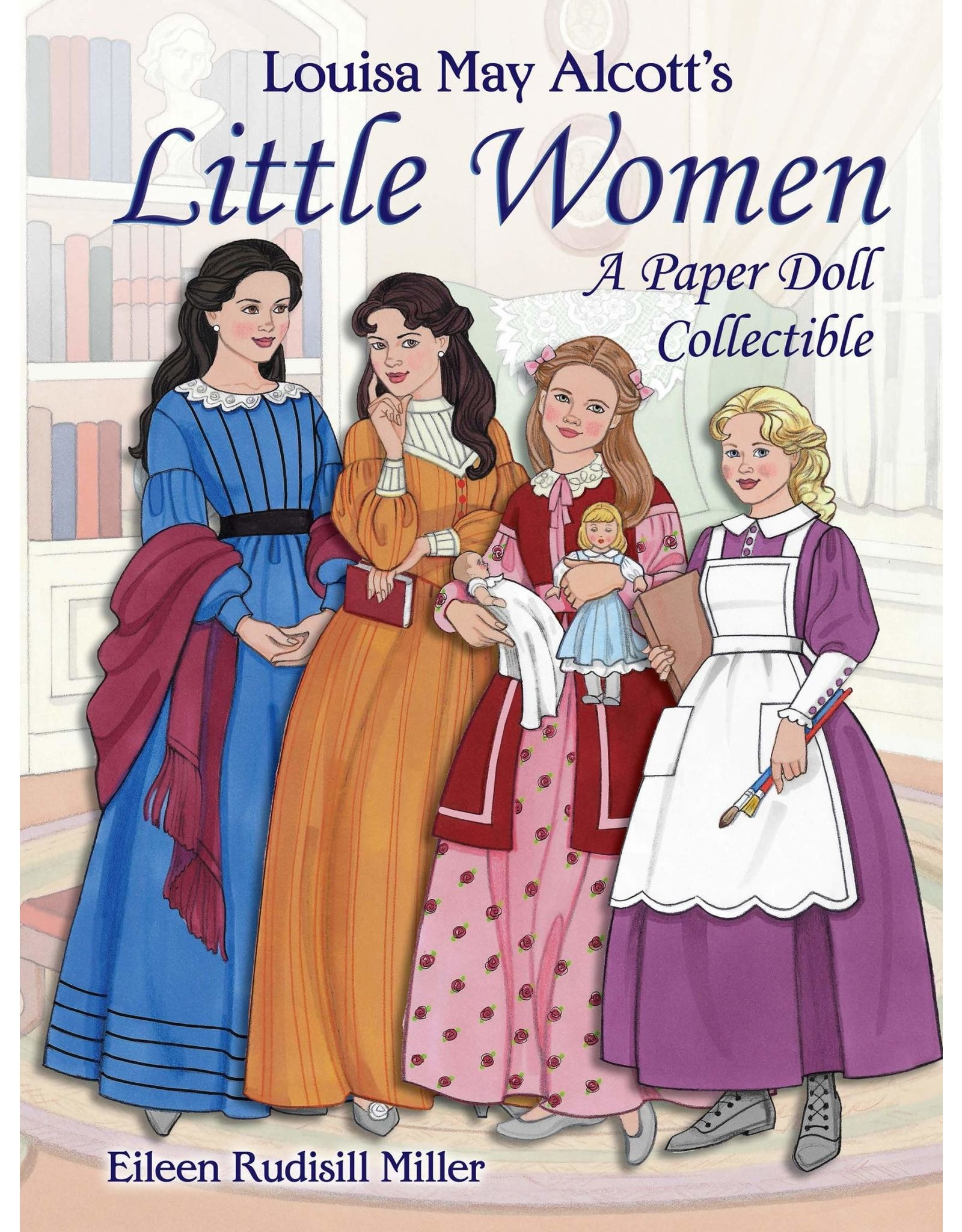 DOVER PUBLICATIONS LITTLE WOMEN A PAPER DOLL COLLECTIBLE