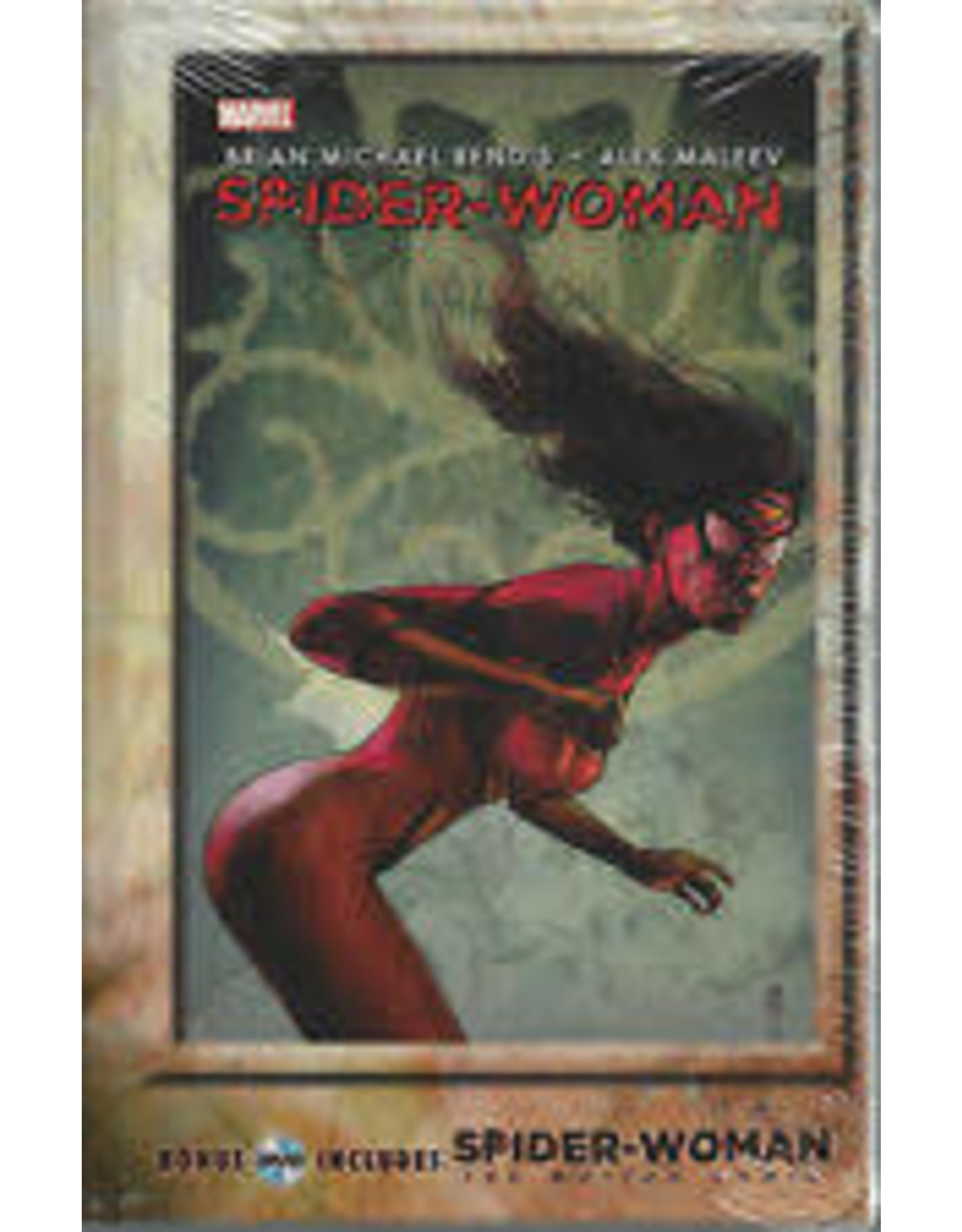 MARVEL COMICS SPIDER-WOMAN HC AGENT OF SWORD GN W/ MOTION DVD