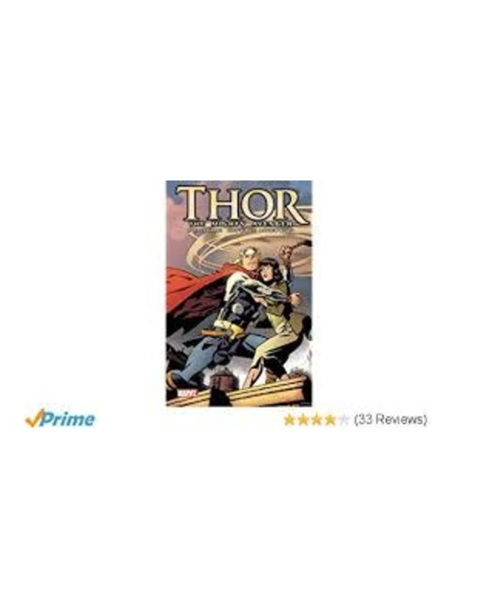 MARVEL COMICS THOR MIGHTY AVENGER GN TP VOL 01 GOD WHO FELL INTO EARTH