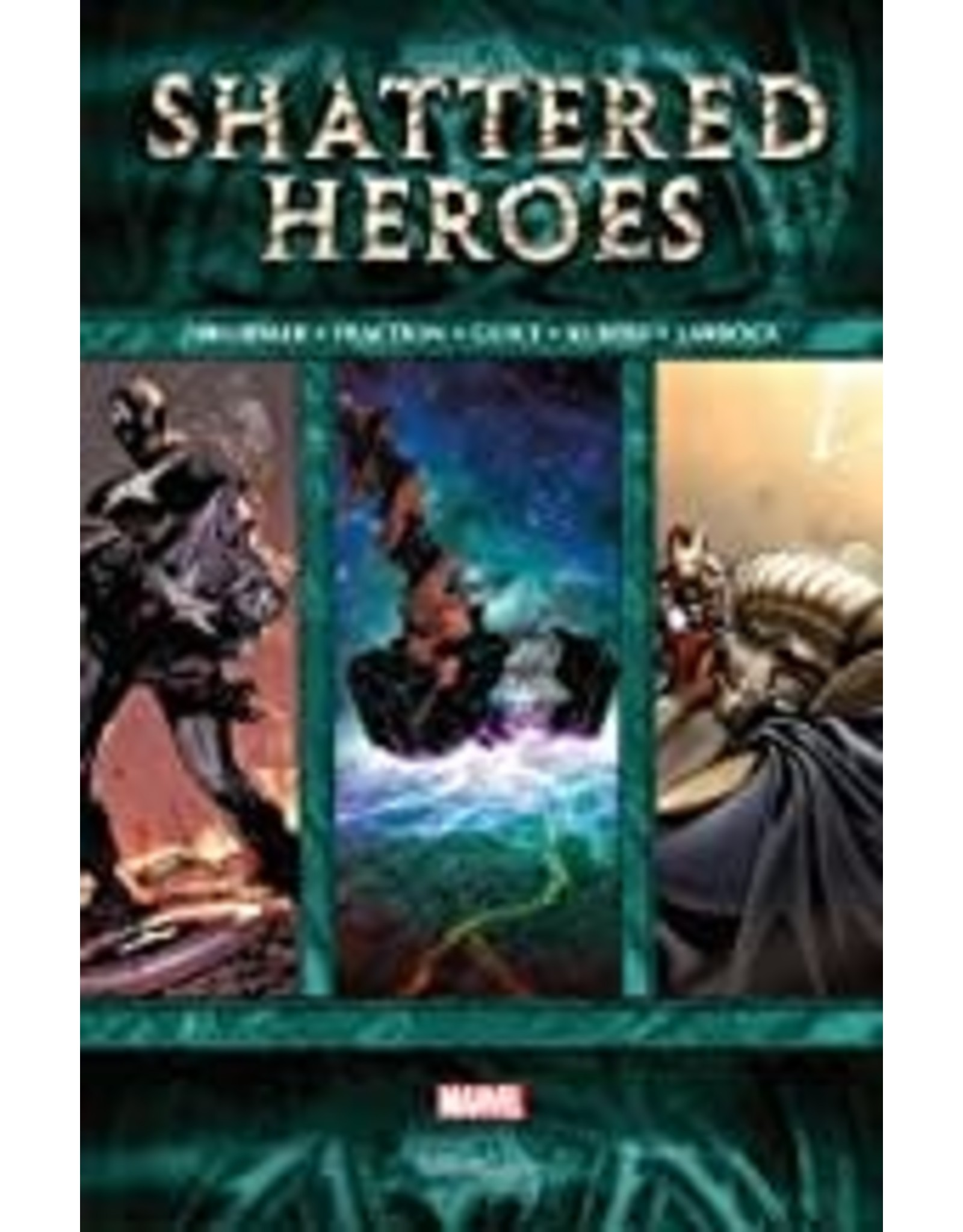 MARVEL COMICS SHATTERED HEROES HC