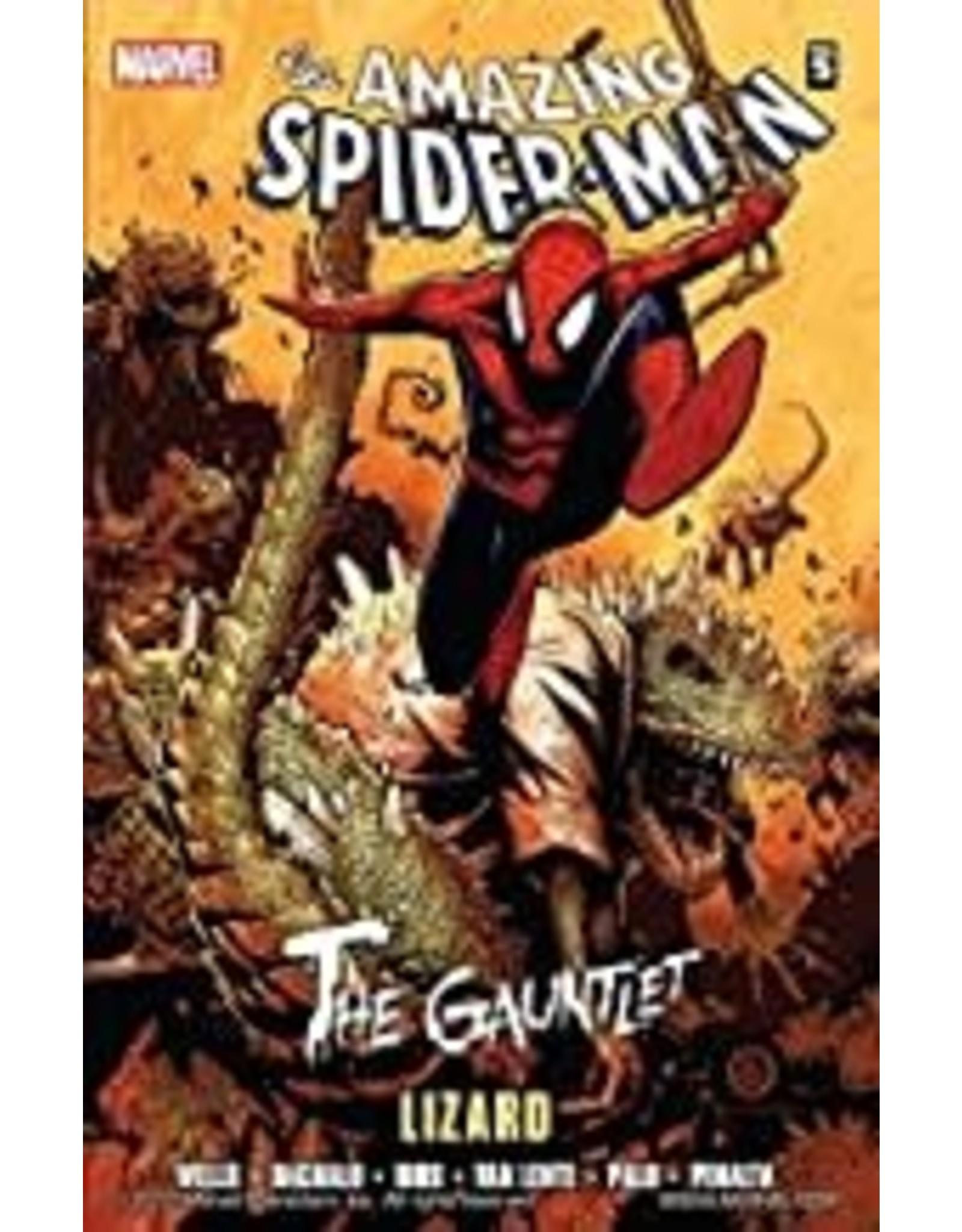 MARVEL COMICS SPIDER-MAN GAUNTLET TP VOL 05 LIZARD