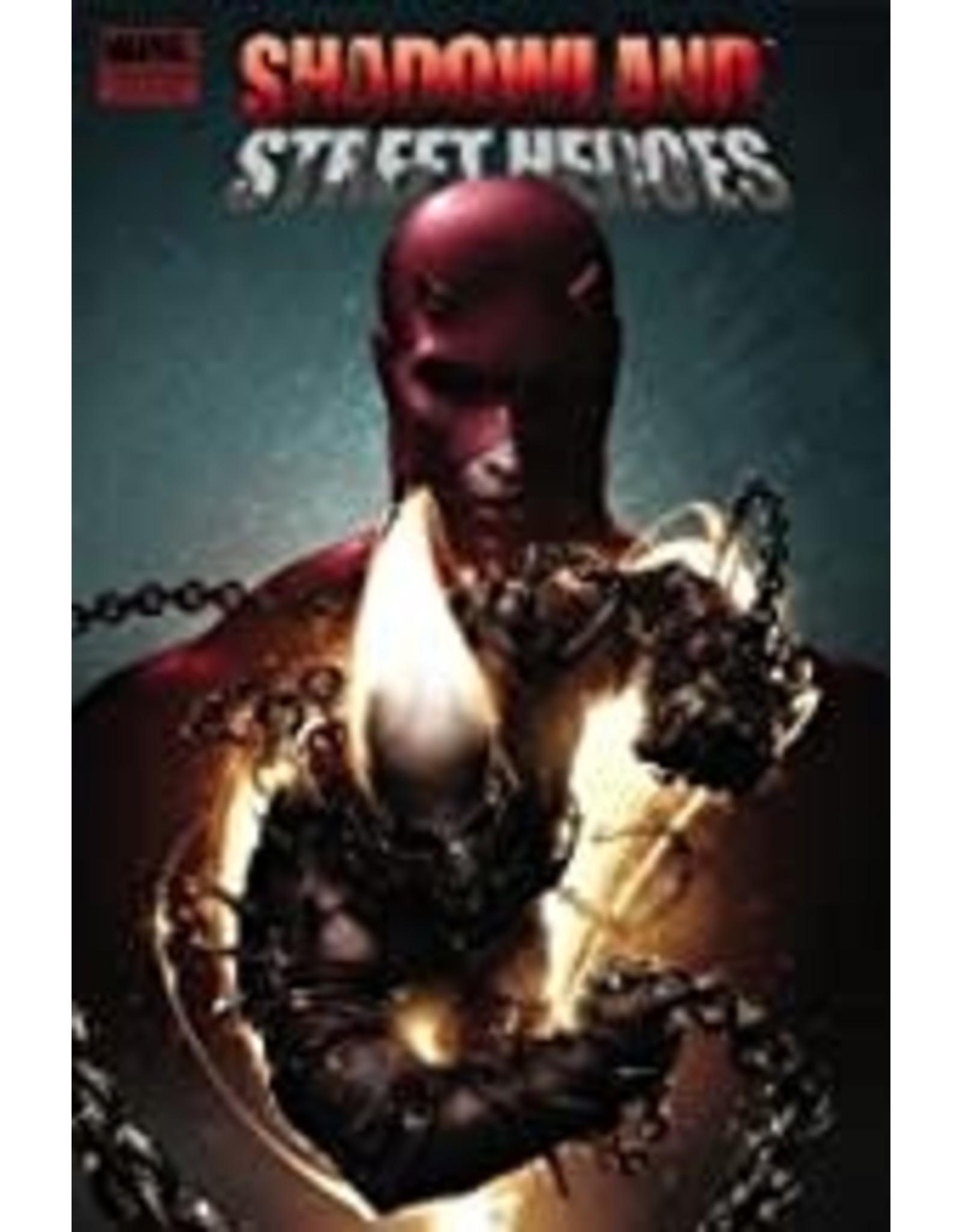 MARVEL COMICS SHADOWLAND STREET HEROES PREM HC