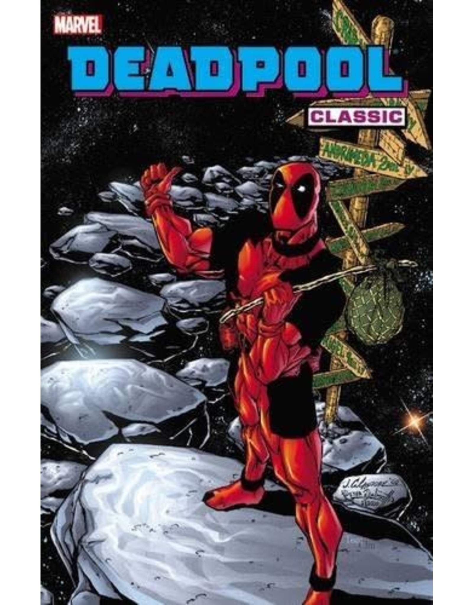 MARVEL COMICS DEADPOOL CLASSIC TP VOL 06