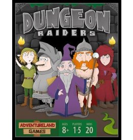 ADVENTURELAND GAMES DUNGEON RAIDERS 1ST EDITION (OOP)