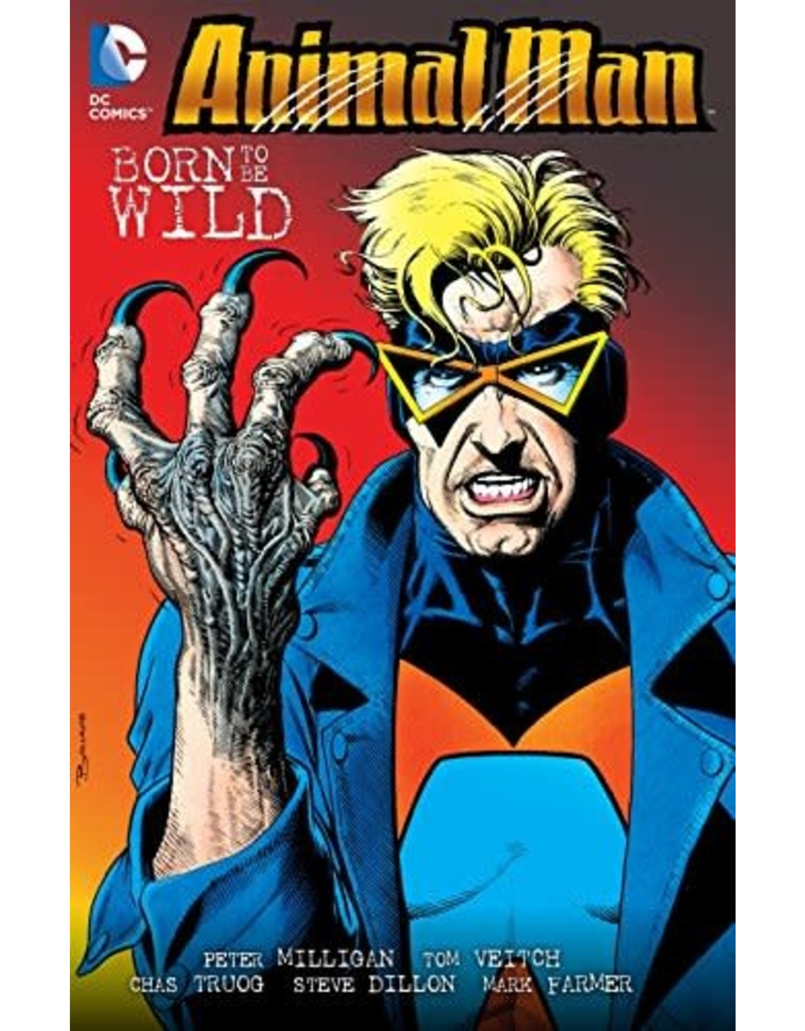 DC COMICS ANIMAL MAN TP VOL 04 BORN TO BE WILD