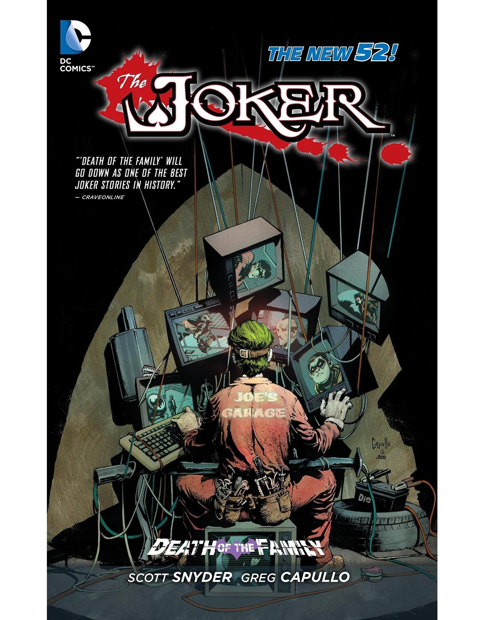 DC COMICS JOKER DEATH OF THE FAMILY HC