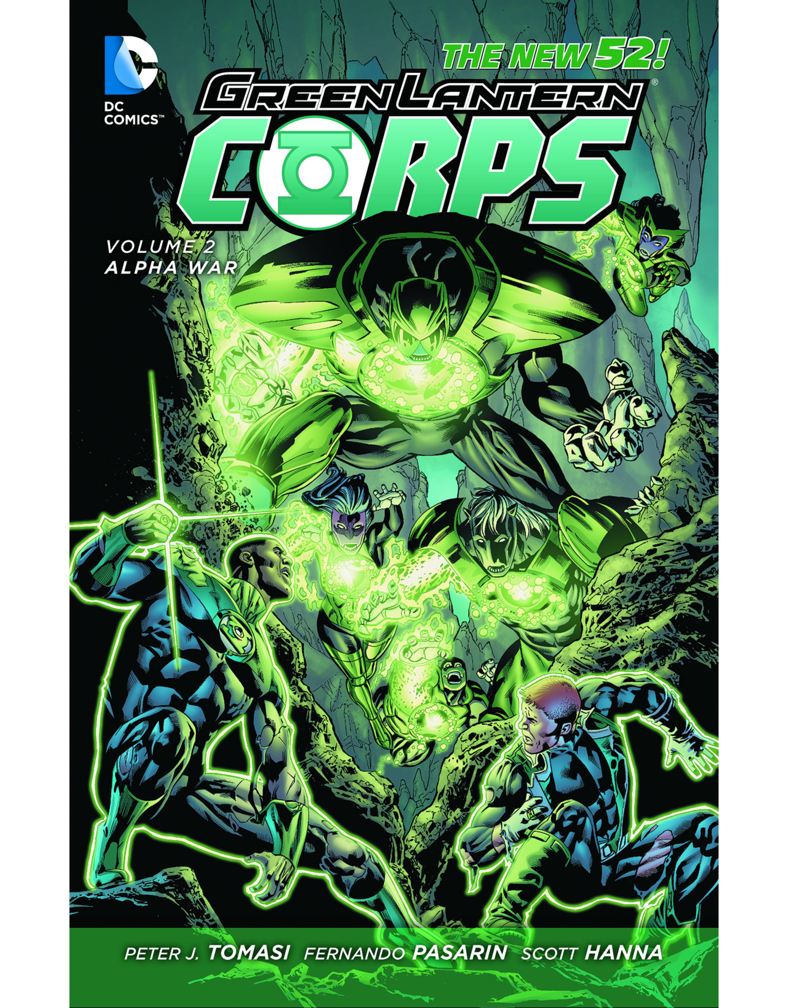 DC COMICS GREEN LANTERN CORPS HC VOL 02 ALPHA WAR