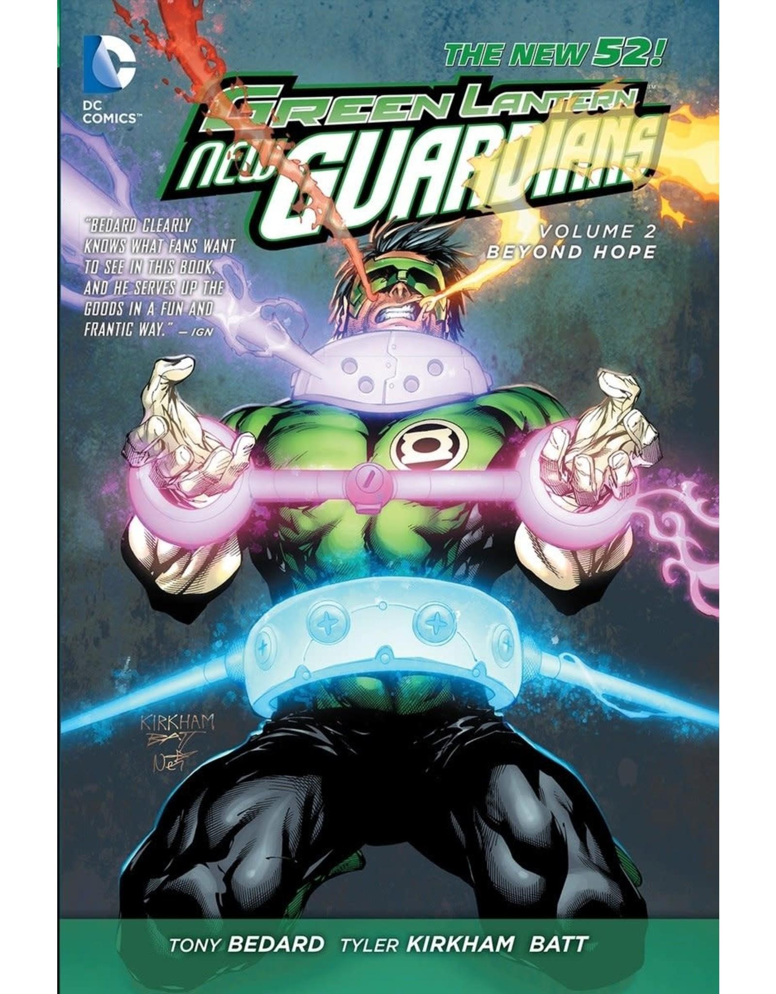 DC COMICS GREEN LANTERN NEW GUARDIANS HC VOL 02 BEYOND HOPE