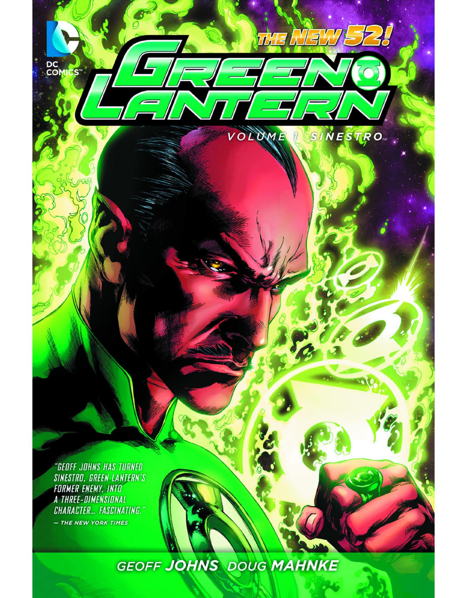 DC COMICS GREEN LANTERN HC VOL 01 SINESTRO