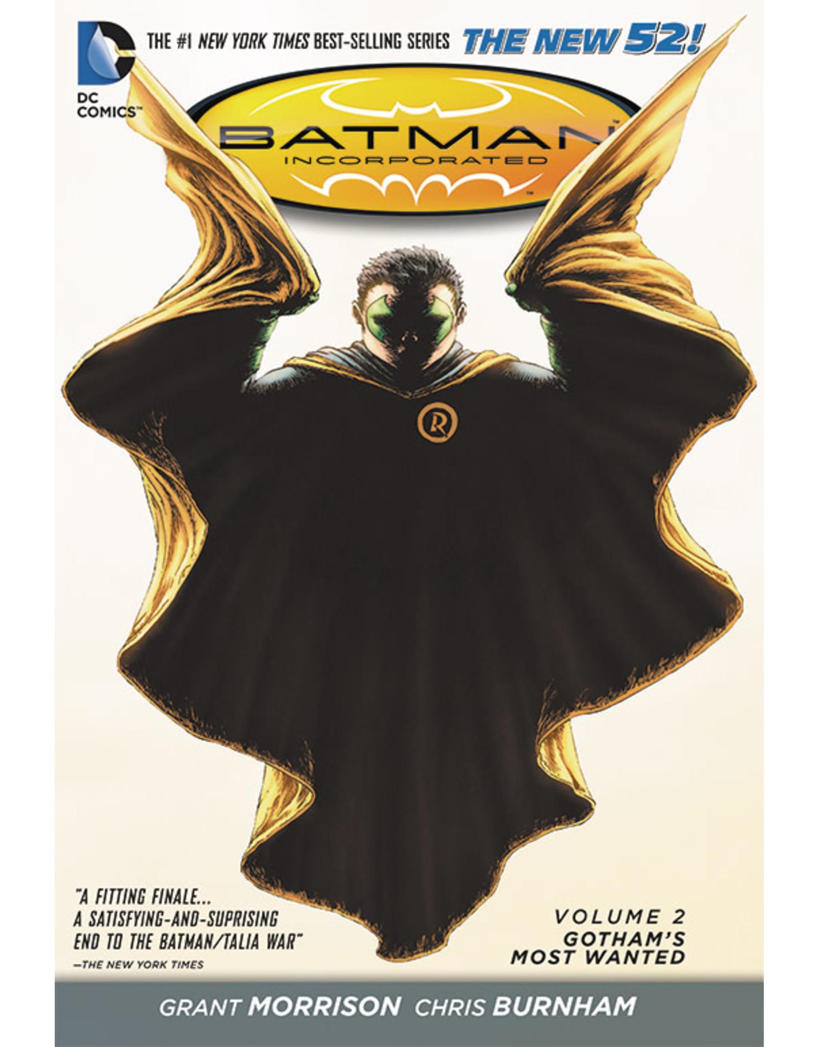 DC COMICS BATMAN INCORPORATED HC VOL 02 GOTHAMS MOST WANTED