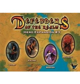 EAGLE GAMES DEFENDERS OF THE REALM HERO EXPANSION #3