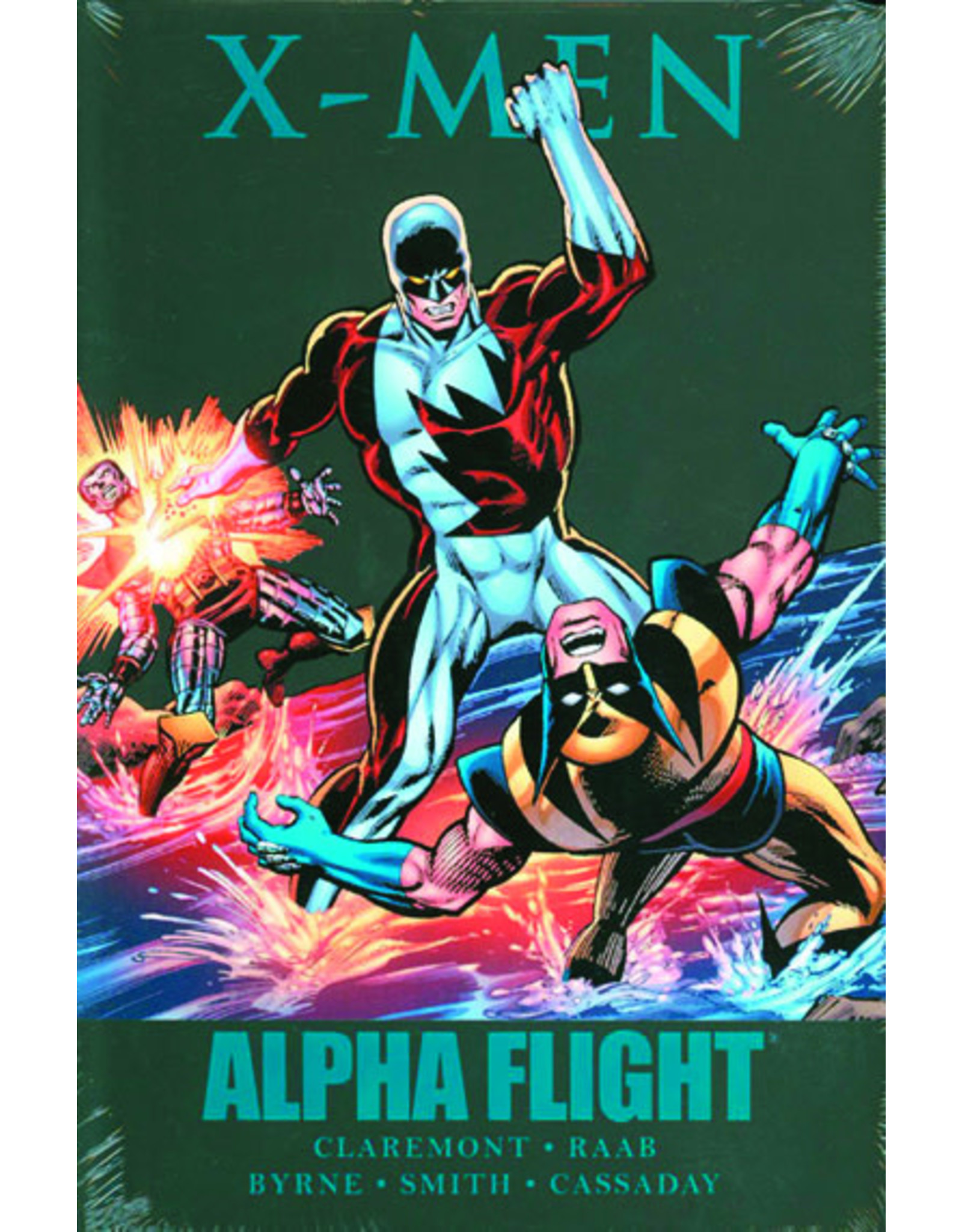 MARVEL COMICS X-MEN ALPHA FLIGHT PREM HC