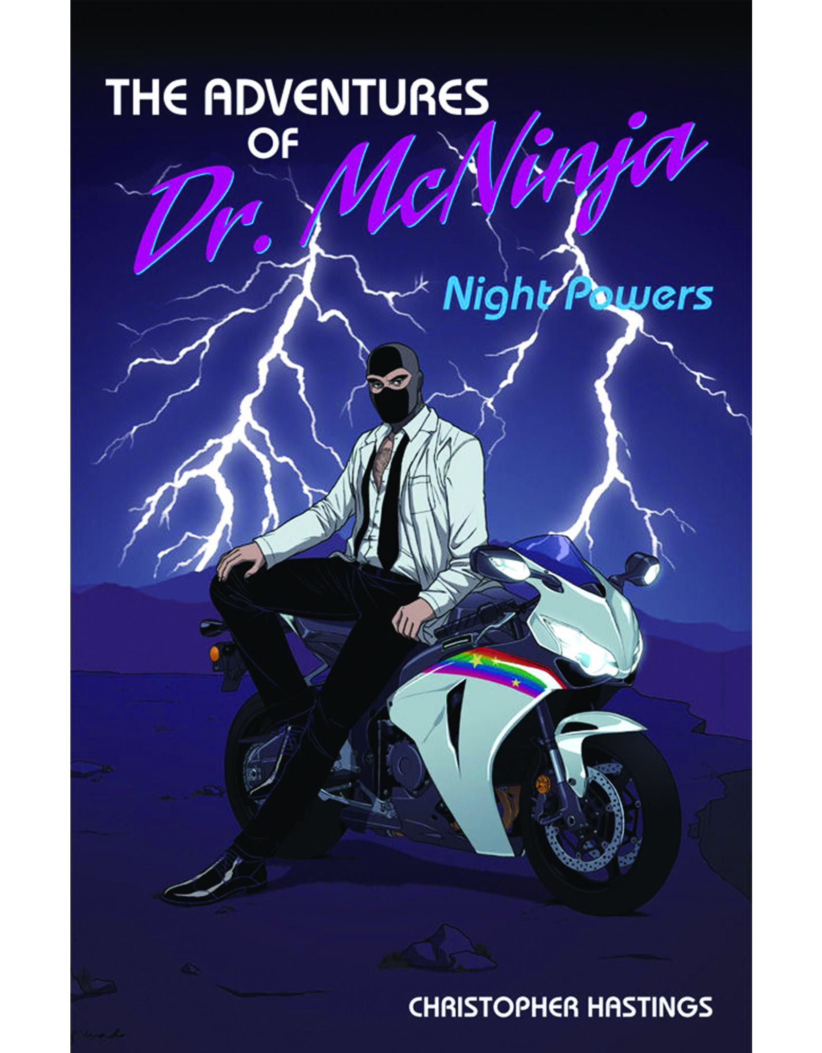 DARK HORSE COMICS ADV OF DR MCNINJA TP VOL 01 NIGHT POWERS