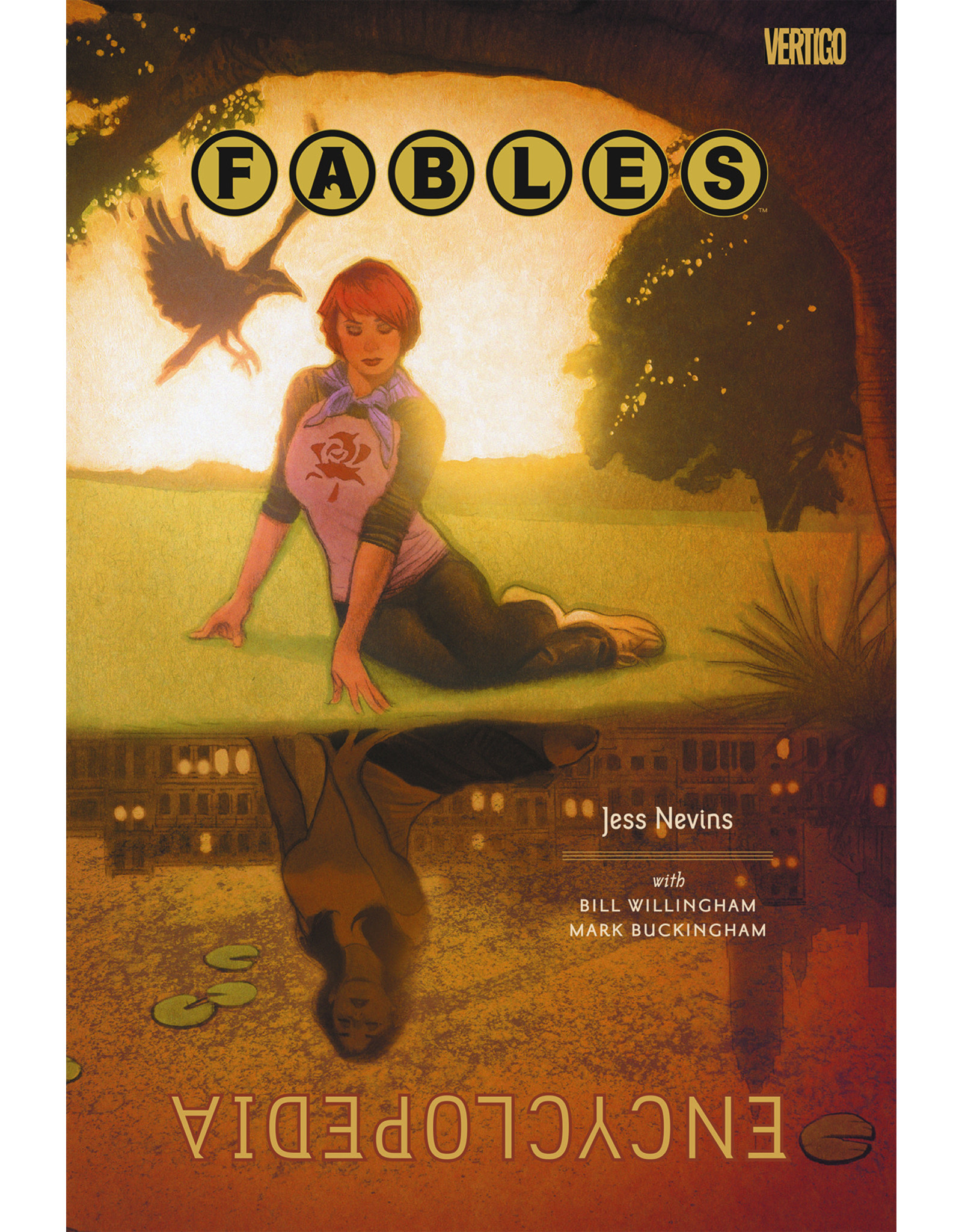 DC COMICS FABLES ENCYCLOPEDIA DELUXE ED HC