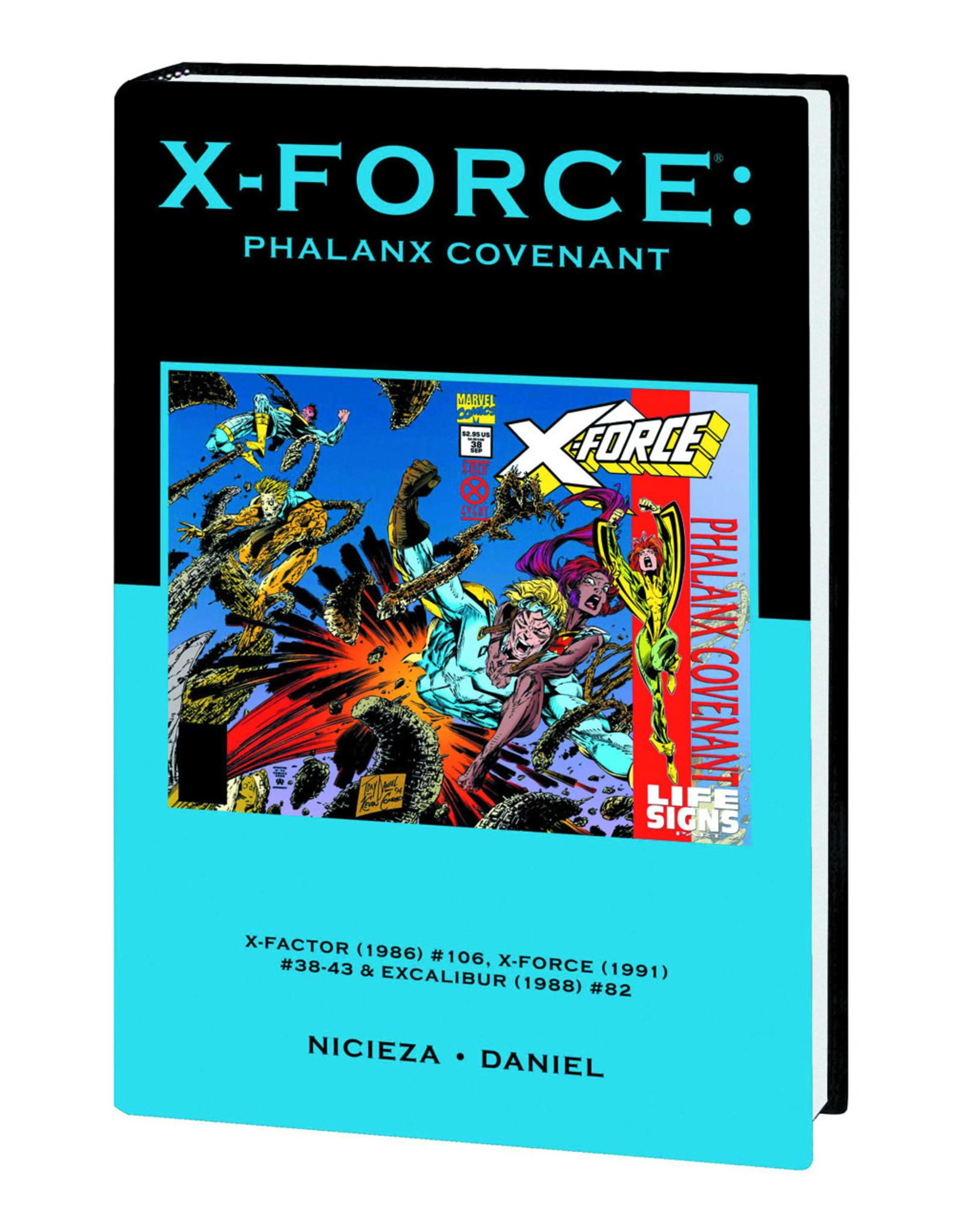 MARVEL COMICS X-FORCE PREM HC PHALANX COVENANT DM VAR ED 107